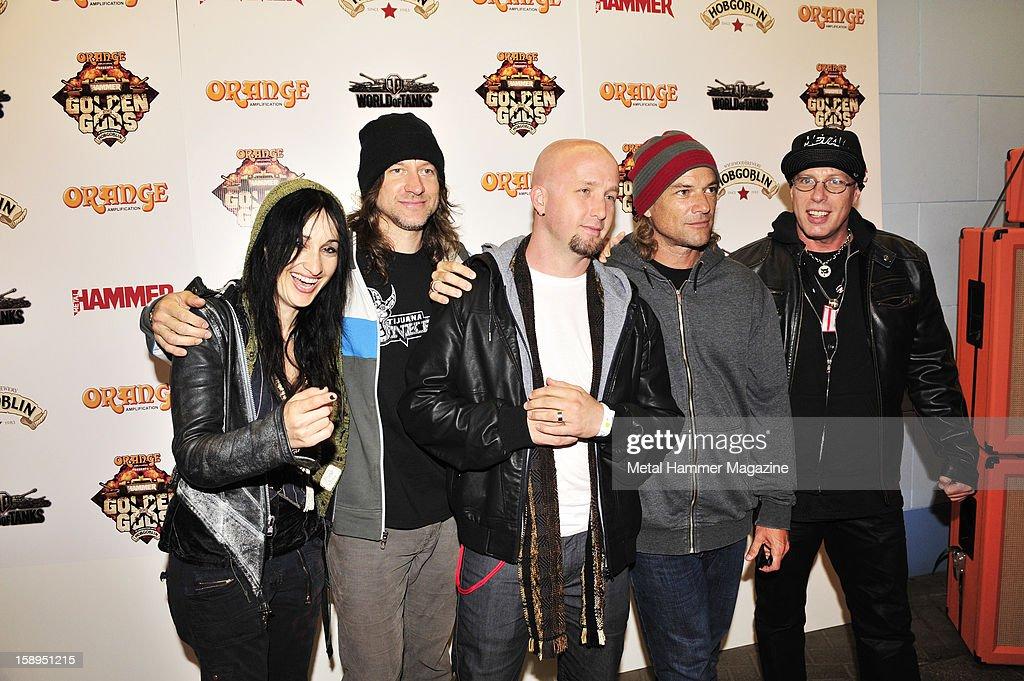 Metal Hammer Golden Gods Awards 2012 - Press Run : News Photo
