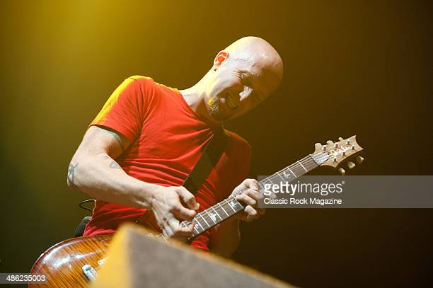 Dave Fortman of American hard rock band Ugly Kid Joe performing live onstage at the Wembley Arena October 28 2012