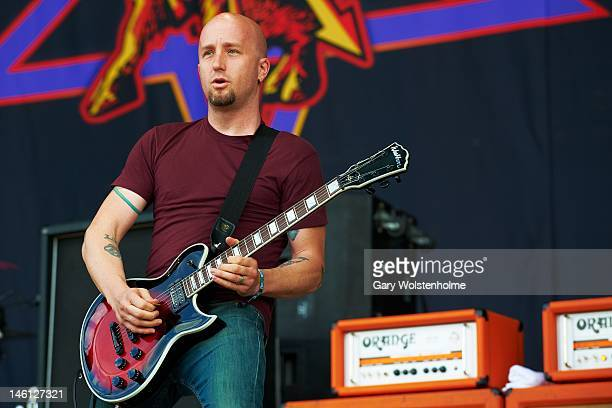 Dave Fortman of Ugly Kid Joe performs on stage during Download Festival at Donington Park on June 10 2012 in Castle Donington United Kingdom