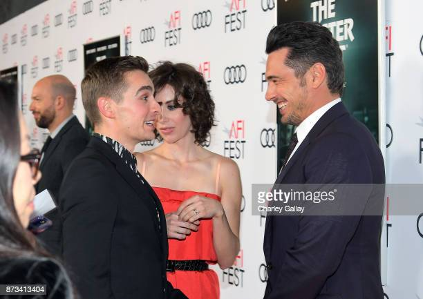 Dave Franco Alison Brie and James Franco attend 'The Disaster Artist' Presented by Audi at AFI Festival at The Hollywood Roosevelt Hotel on November...