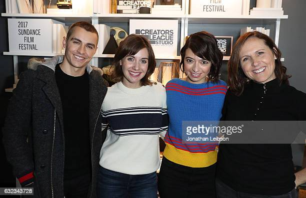 Dave Franco Alison Brie Kate Micucci and Molly Shannon attend the Creators League Studio At 2017 Sundance Film Festival Day 3 on January 21 2017 in...