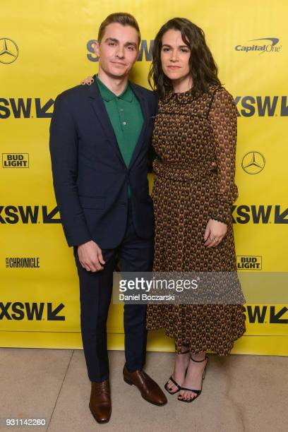 Dave Franco and Abbi Jacobson attend the '6 Balloons' red carpet premiere during SXSW 2018 on March 12 2018 in Austin Texas