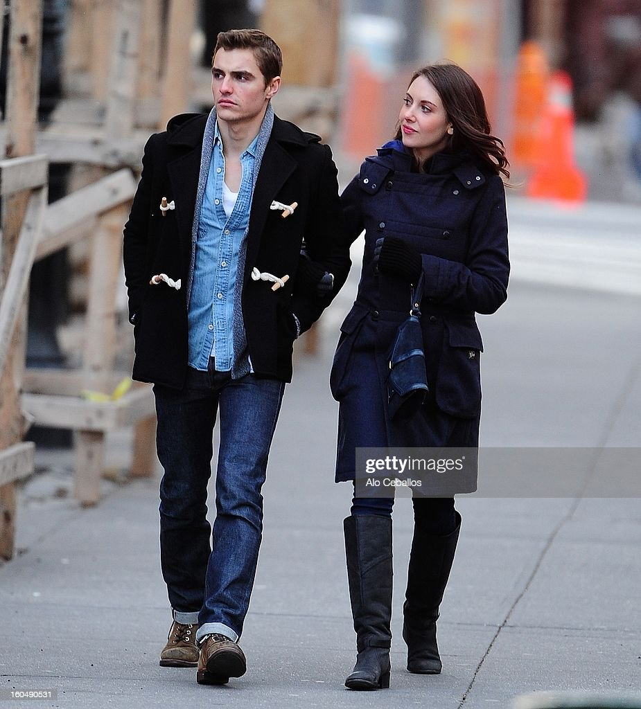 Celebrity Sightings In New York City - February 1, 2013 : News Photo