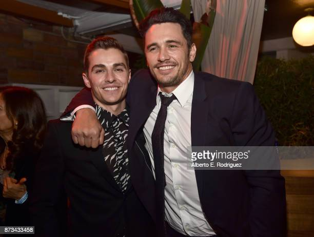 Dave Franco and James Franco attend the after party for the screening of The Disaster Artist at AFI FEST 2017 Presented By Audi at the Hollywood...