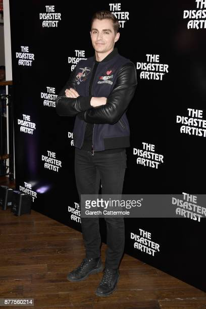 Dave Franco attends a screening of The Disaster Artist at Picturehouse Central on November 22 2017 in London England