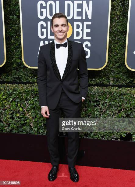 Dave Franco attends The 75th Annual Golden Globe Awards at The Beverly Hilton Hotel on January 7 2018 in Beverly Hills California