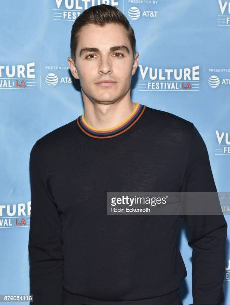 Dave Franco attends 'The Disaster Artist' panel at Vulture Festival Los Angeles at Hollywood Roosevelt Hotel on November 18 2017 in Hollywood...