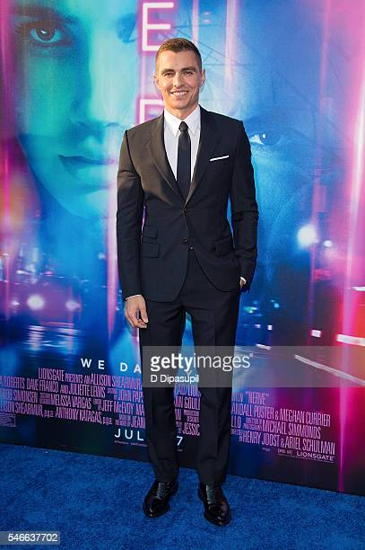 Dave Franco attends the 'Nerve' New York premiere at SVA Theater on July 12 2016 in New York City