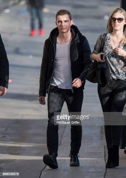 Dave Franco is seen at 'Jimmy Kimmel Live' on December 07 2017 in Los Angeles California