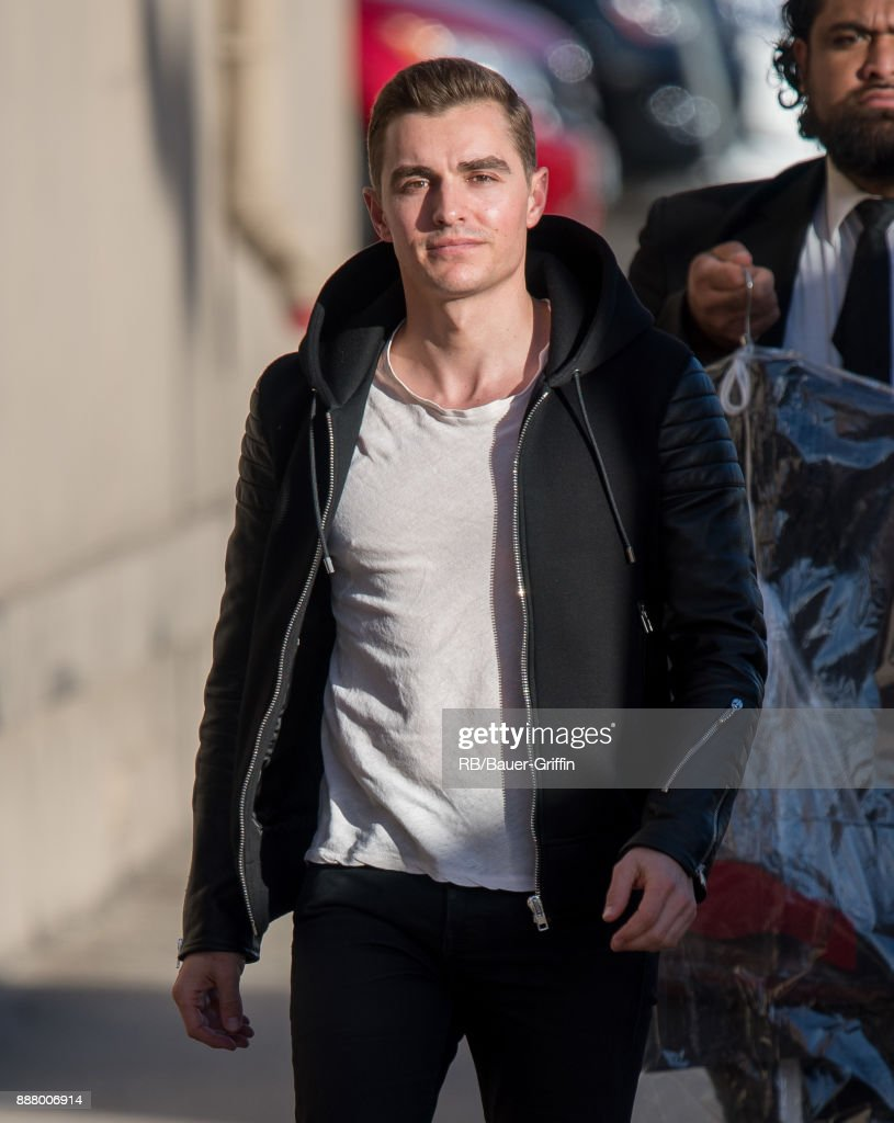 Dave Franco is seen at 'Jimmy Kimmel Live' on December 07, 2017 in Los Angeles, California.