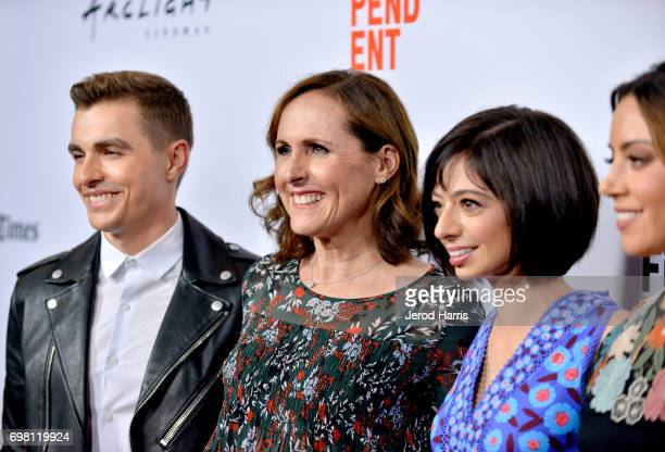 Dave Franco Kate Micucci Molly Shannon and Aubrey Plaza attend the screening of The Little Hours during 2017 Los Angeles Film Festival at Arclight...