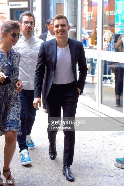 Dave Franco seen out in Manhattan on June 29 2017 in New York City