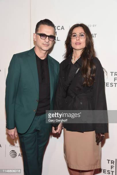 Dave Gahan and Jennifer Sklias Gahan attends a screening of 'It Takes a Lunatic' during the 2019 Tribeca Film Festival at BMCC Tribeca PAC on May 03...