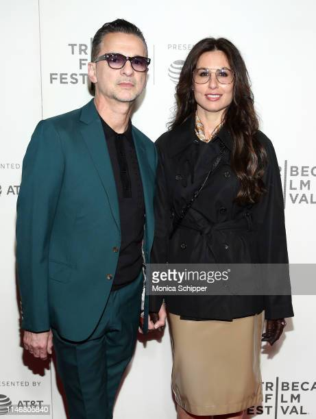 Dave Gahan and Jennifer SkliasGahan attend the It Takes A Lunatic world premiere during the 2019 Tribeca Film Festival at BMCC Tribeca PAC on May 03...