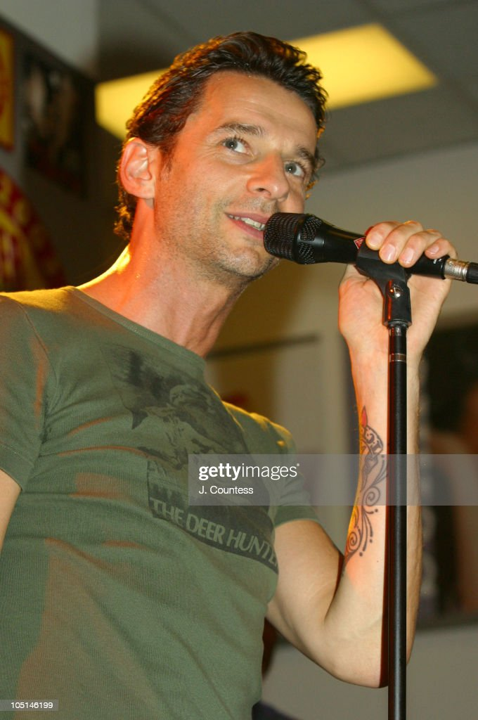 Dave Gahan in Concert at Tower Records in New York City