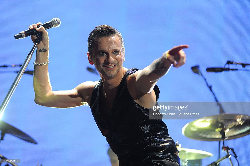 Depeche Mode Perform in Bologna