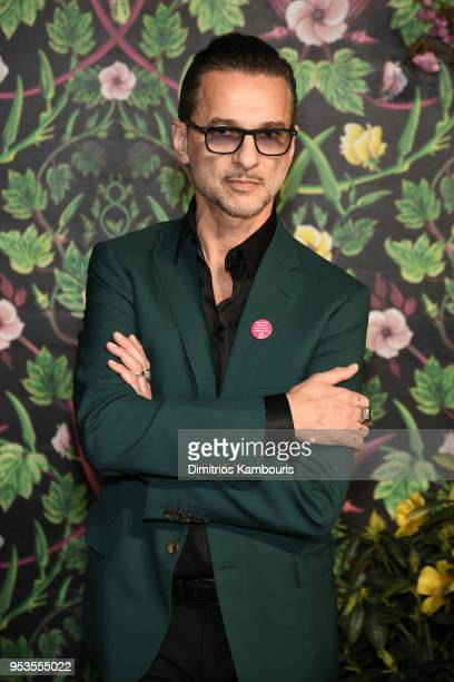 Dave Gahan of Depeche Mode attends the Planned Parenthood's 2018 Spring Into Action Gala at Spring Studios on May 1, 2018 in New York City.