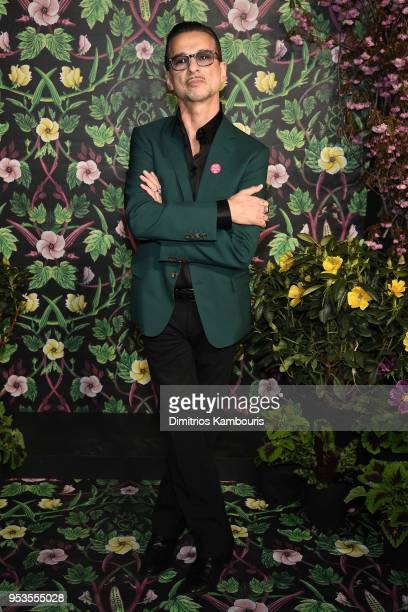Dave Gahan of Depeche Mode attends the Planned Parenthood's 2018 Spring Into Action Gala at Spring Studios on May 1 2018 in New York City