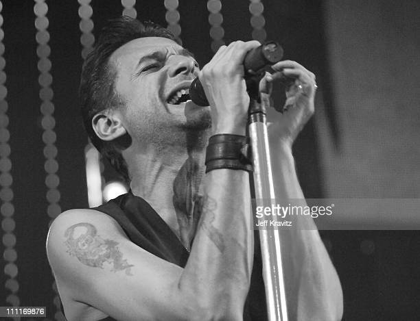 Dave Gahan of Depeche Mode during KROQ Almost Acoustic Christmas 2005 Day 2 Show at Gibson Ampitheatre in Universal City California United States