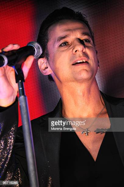 Dave Gahan of Depeche Mode performs at San Siro stadium on june 18 2009 in Milan Italy