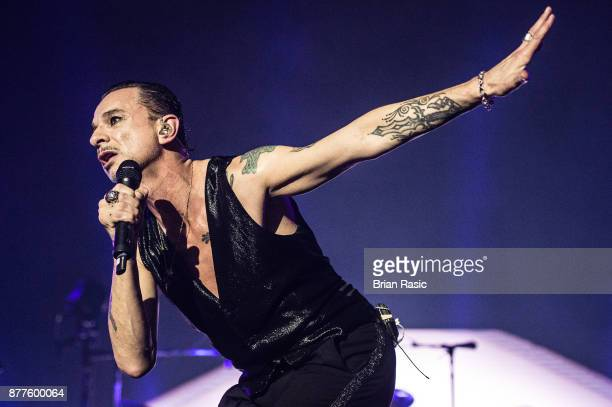 Dave Gahan of Depeche Mode performs at The O2 Arena on November 22 2017 in London England