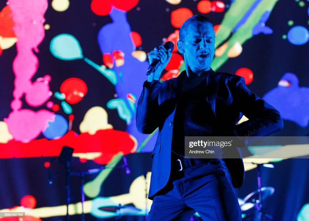 Depeche Mode Performs At Rogers Arena