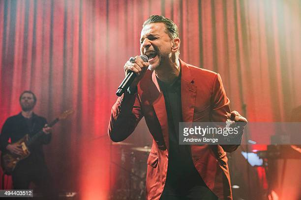 Dave Gahan performs on stage with Soulsavers at O2 Shepherd's Bush Empire on October 26 2015 in London England