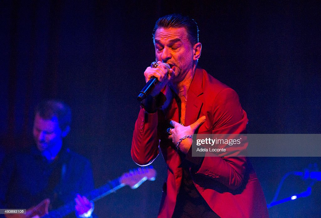 Dave Gahan In Concert - New York, New York : News Photo