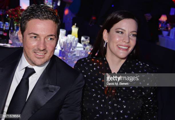 Dave Gardner and Liv Tyler attend The Fashion Awards 2018 in partnership with Swarovski after party at the Royal Albert Hall on December 10 2018 in...