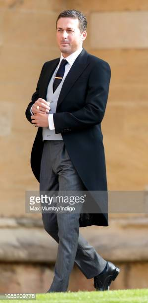 Dave Gardner attends the wedding of Princess Eugenie of York and Jack Brooksbank at St George's Chapel on October 12 2018 in Windsor England