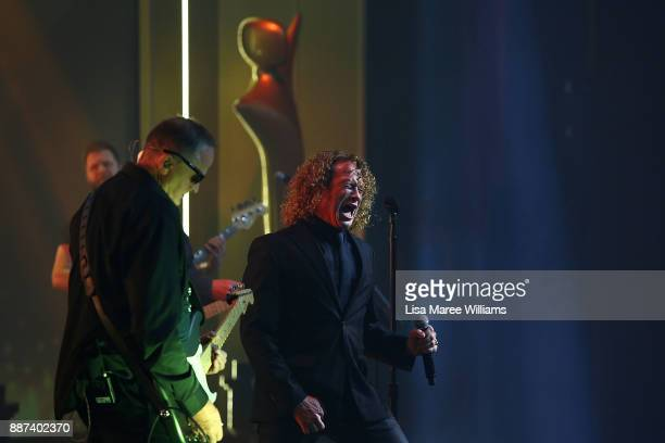Dave Gleeson performs during the 7th AACTA Awards Presented by Foxtel at The Star on December 6 2017 in Sydney Australia