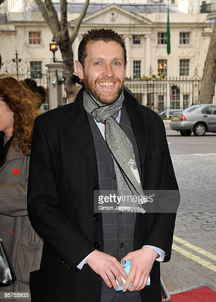 Dave Gorman attends the gala premiere of 'In The Loop' at Curzon Mayfair on April 1 2009 in London England