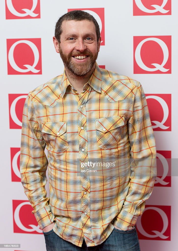 Dave Gorman attends The Q Awards at The Grosvenor House Hotel on October 21, 2013 in London, England.
