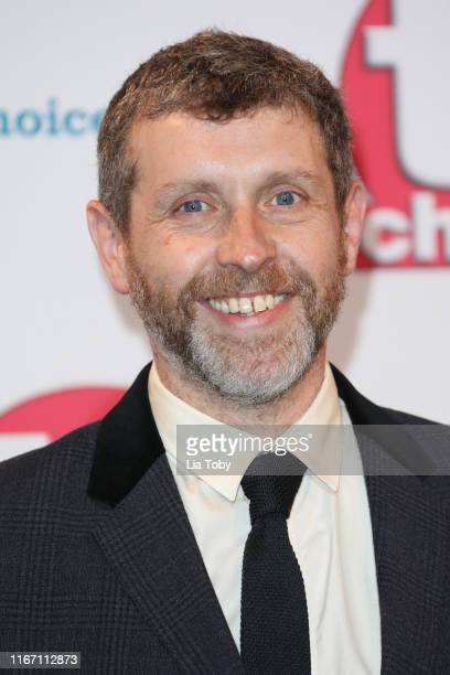 Dave Gorman attends The TV Choice Awards 2019 at Hilton Park Lane on September 9 2019 in London England
