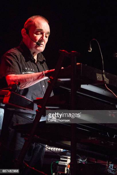 Dave Greenfield of The Stranglers performs at Brixton Academy on March 24 2017 in London United Kingdom
