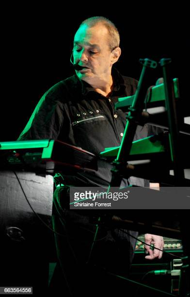 Dave Greenfield of The Stranglers performs at O2 Apollo Manchester on April 1 2017 in Manchester United Kingdom