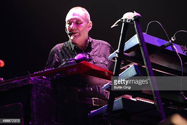 Dave Greenfield of The Stranglers performs live at The O2 Arena on November 26 2015 in London England