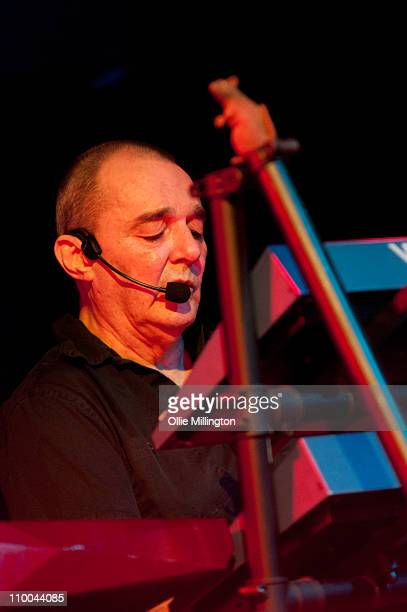Dave Greenfield of The Stranglers performs on stage at o2 Academy on March 13 2011 in Leicester United Kingdom