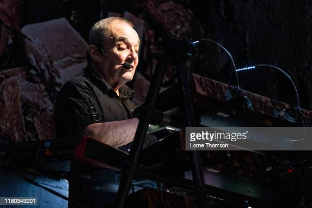 Dave Greenfield of The Stranglers performs on stage at The O2 Arena on October 10 2019 in London England