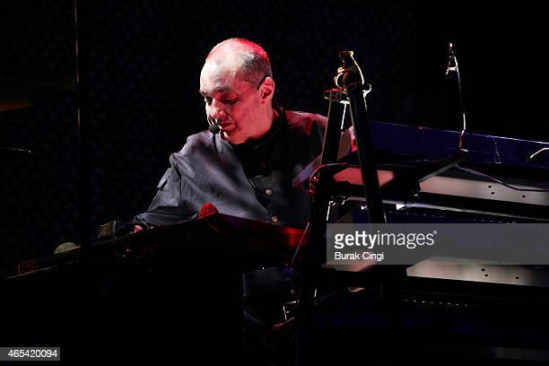 Dave Greenfield of The Stranglers performs on stage at The Roundhouse on March 6 2015 in London United Kingdom