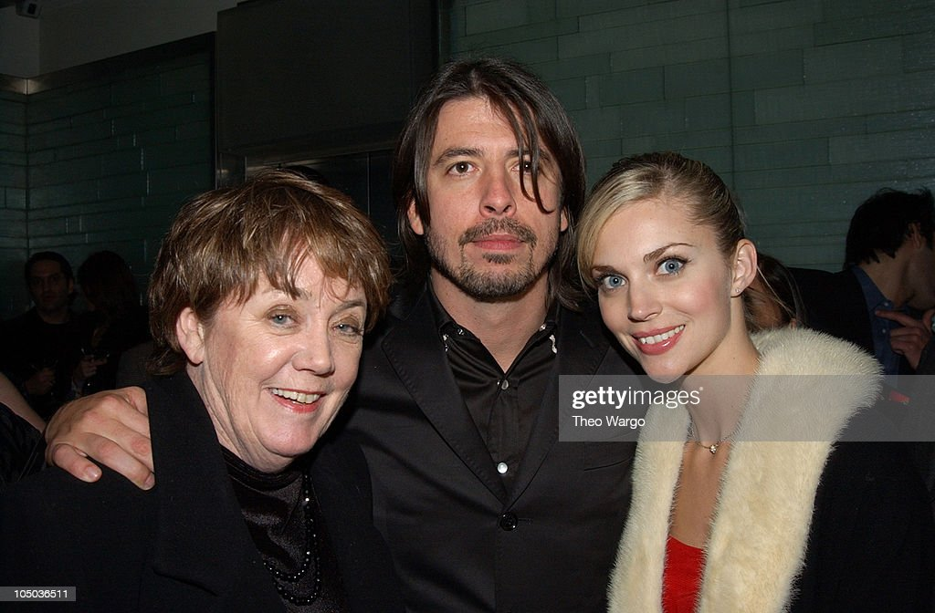 Dave Grohl and guests during The 45th Annual GRAMMY Awards - EMI After-Party Celebrates Norah Jones Sweep at Blue Fin and Whiskey in New York City, New York, United States.