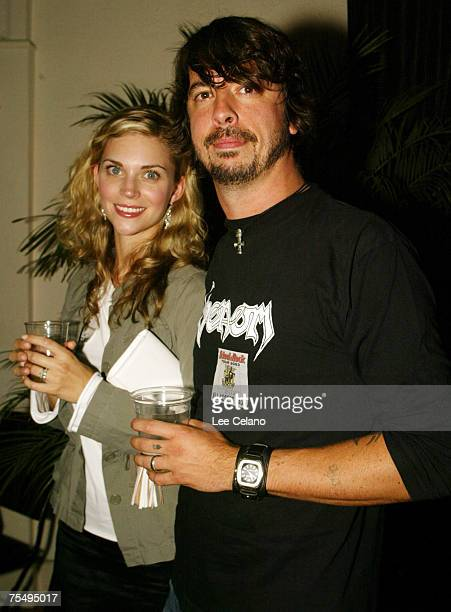 Dave Grohl and wife Jordyn at the Cinerama Dome in Hollywood California
