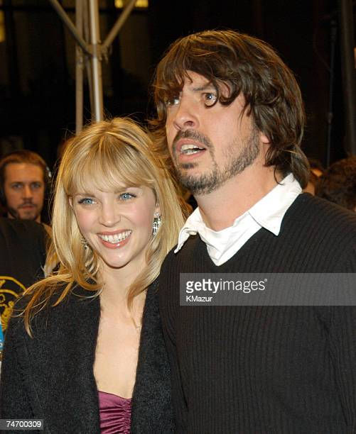 Dave Grohl and wife Jordyn Blum at the The Regent Wall Street in New York City New York