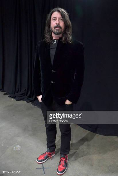Dave Grohl attends the 62nd Annual GRAMMY Awards Let's Go Crazy The GRAMMY Salute To Prince on January 28 2020 in Los Angeles California