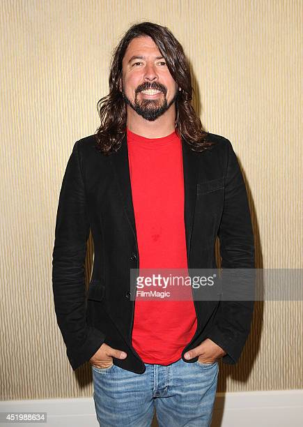 Dave Grohl Director/Writer/Executive Producer of HBO's Foo Fighters Sonic Highways during the HBO TCA Summer Session 2014 at The Beverly Hilton Hotel...