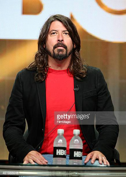 Dave Grohl Director/Writer/Executive Producer of HBO's Foo Fighters Sonic Highways speaks onstage during the HBO TCA Summer Session 2014 at The...