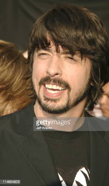 Dave Grohl during 2005 MTV Movie Awards Red Carpet at Shrine Auditorium in Los Angeles California United States