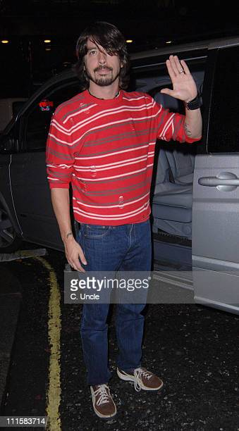 Dave Grohl during 'The Dukes of Hazzard' London Premiere After Party at Texas Embassy Cantina in London United Kingdom