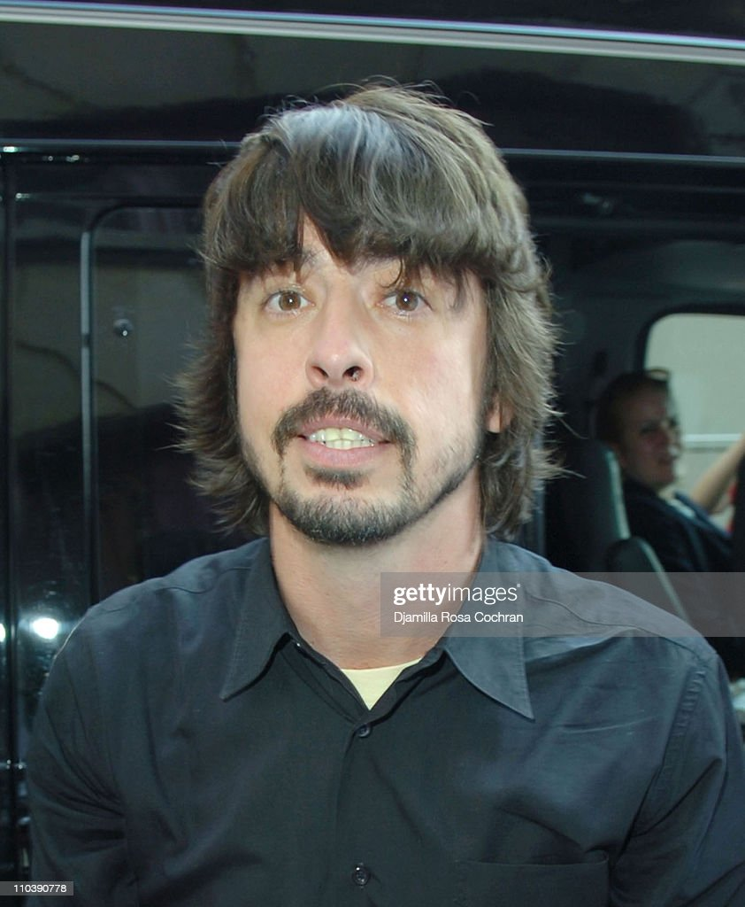 "The Foo Fighters Visit the ""Late Show With David Letterman"" - June 13, 2005"