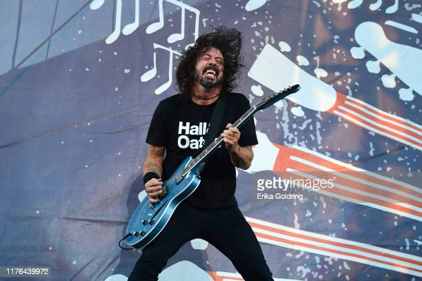 Dave Grohl of Foo Fighters performs onstage during day 2 of the 2019 Pilgrimage Music & Cultural Festival on September 22, 2019 in Franklin,...